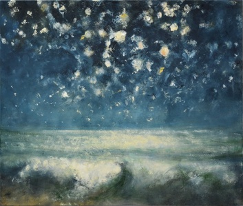 Sea and Stars at Night I