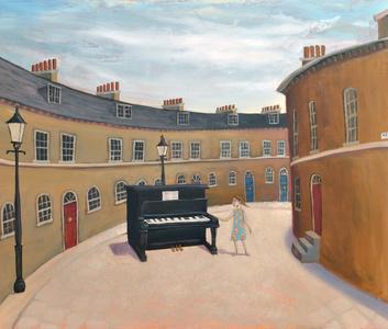 Piano in Keystone Crescent