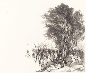 Lanciers en Marche (Lancers on the March)