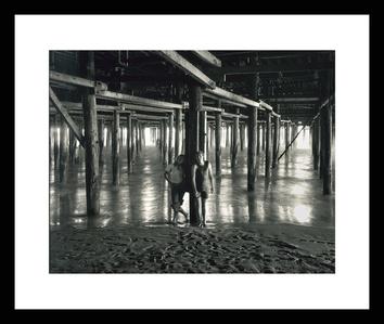 Couple at Santa Monica Pier (1972)