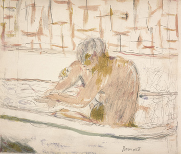 Woman Seated in Her Bath (Femme assise dans sa baignoire)