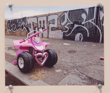 Untitled (Pink Bike)