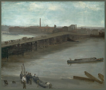 Brown and Silver: Old Battersea Bridge