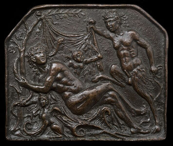 A Satyr Uncovering a Nymph