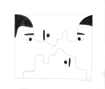 Untitled (Faces)