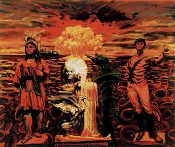 Anomie 1992- Landscape Painting