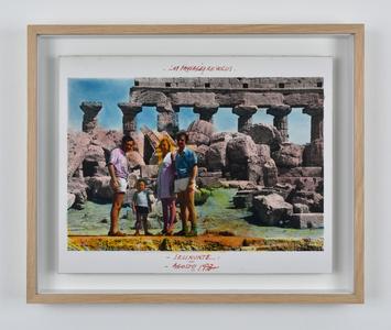 Série Les Paysages Révolus, Selinunte, Agosto 1973