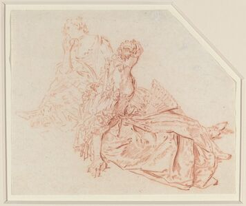 Two Seated Ladies