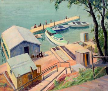 Dock at Lewiston