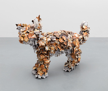 Sculpture 'Fox Cub 1'