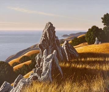 Big Sur Landscape with Rocks