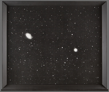 Dust	 (NGC 1549 and NGC 1553, a galaxy pair in Dorado)