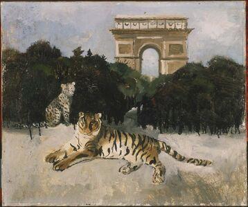Tiger and Arc de Triomphe