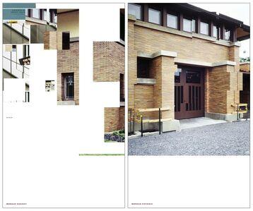 Denkmal 11, Museum of Modern Art, 11 West 53 Street,  New York, 2007.  Module CCCXXII, CCCXXIII  [Diptych 9] Darwin D. Martin House, Frank Lloyd Wright, Buffalo, 1904-05, New York State