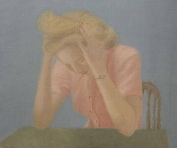Lee Miller con dolor de cabeza