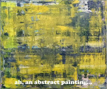 Ah, an abstract painting