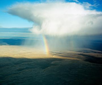 Rainbow, Athabasca Sand Dunes