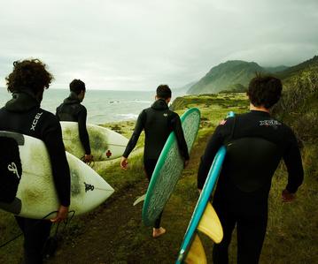 Until the Surf Calms