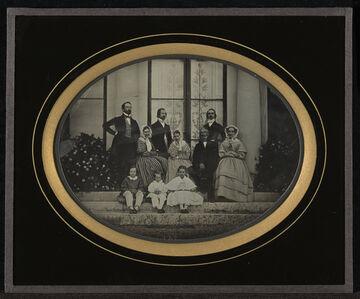 Members of Eynard Family and Friends
