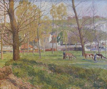 Un paysage pastoral