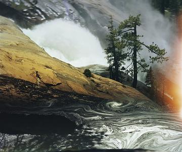 Water Wheel Falls, Grand Canyon of the Tuolumne River, California