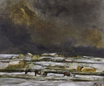Solway Plain Under Snow