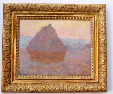 Grainstack, Giverny, 1889