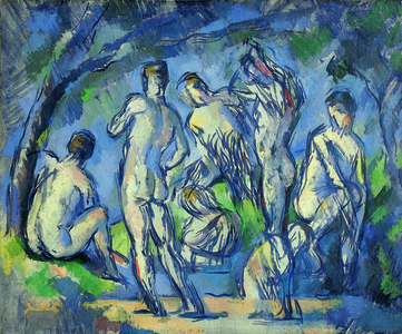 Sept baigneurs (Seven Bathers)