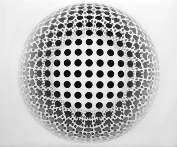Dot Sphere #1 White