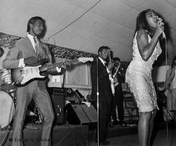 Ike and Tine Turner at The Club Paradise, Memphis, TN, 1962