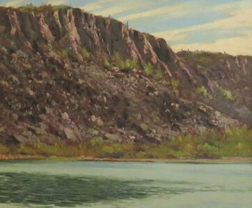 Talus from the Walls of Great Bear Lake