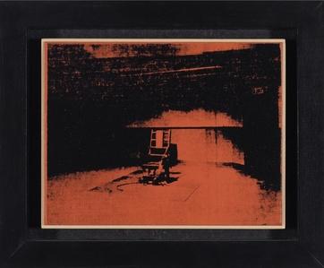 Andy Warhol - 'Orange Electric Chair' 1964