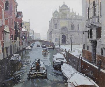 Campo Dei SS Giovanni E Paolo, Snow Effect