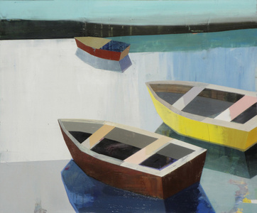 Boats In the Shallow Water #18