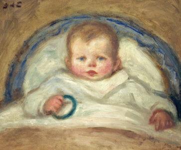 Enfant dans un berceau (Child in a Crib)