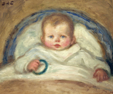 Enfant dans un berceau (Child in a Crib)