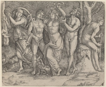 Bacchus and His Attendants