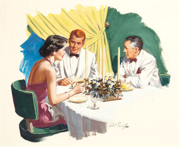 The Head and the Heart, American Magazine Story Illustration