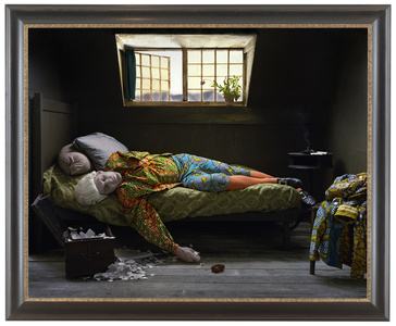 Fake Death Picture (The Death of Chatterton - Henry Wallis)