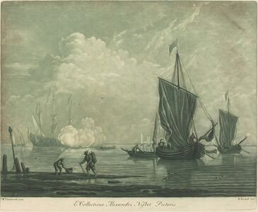 Shipping Scene from the Collection of Alexander Nisbit