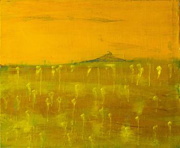 Gelbe Landschaft (Yellow Landscape)