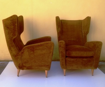 Pair of M.Bega Wings Armchairs