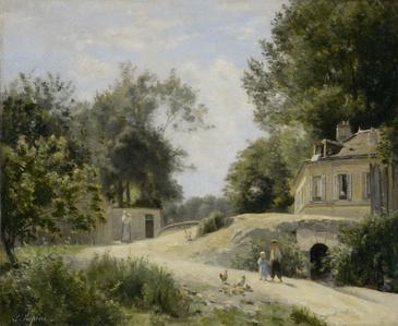 Chemin à Montmartre