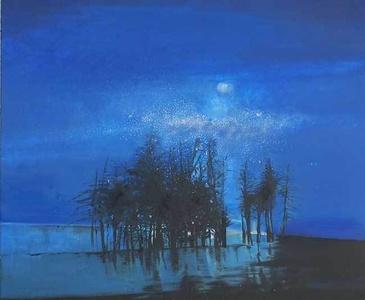 Night (A lake)