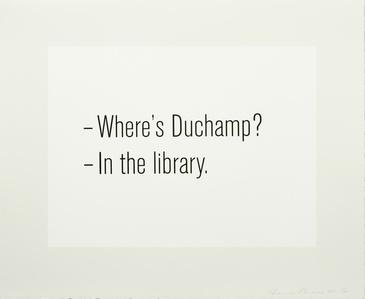 Where's Duchamp?