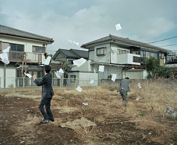 A Sudden Gust of Wind (after Jeff Wall and Hokusai), from Two Kinds of Memory and Memory Itself