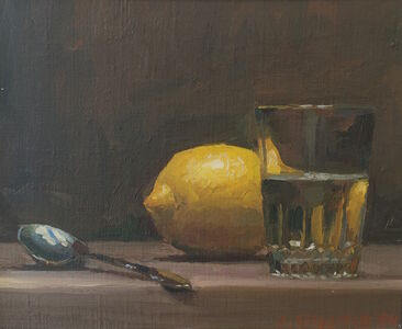 Lemon with Glass