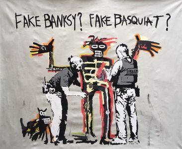 FAKE BASQUIAT? FAKE BANKSY?