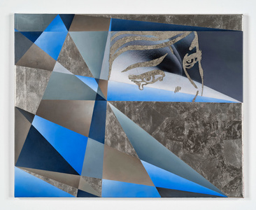 Unwept Abstraction (Blue)