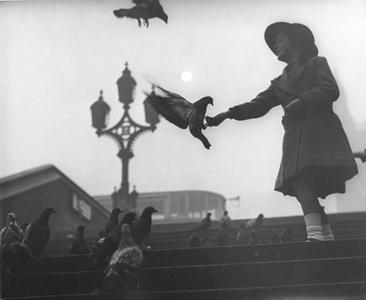 Westminser Bridge Embankment, 1934